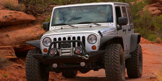 GT 40417 Jeep Wrangler JK 2007 – 2015